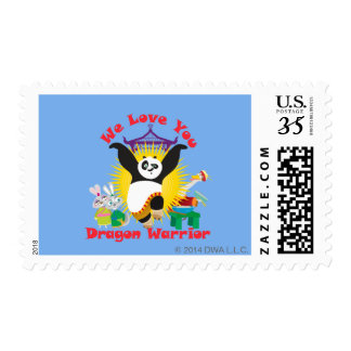 Dragon Warrior Love Postage