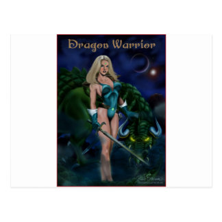Dragon Warrior Postcard