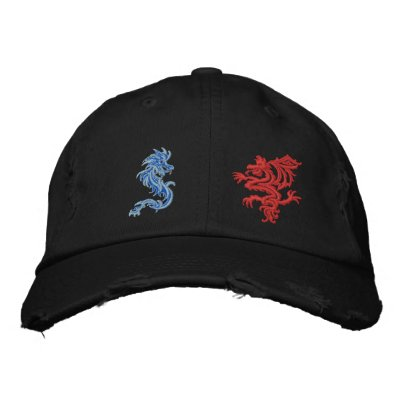 Dragon wars embroidered baseball caps
