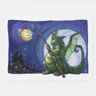 Dragon Watch Art Baby Blanket
