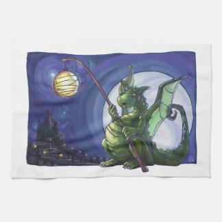 Dragon Watch Art Hand Towels