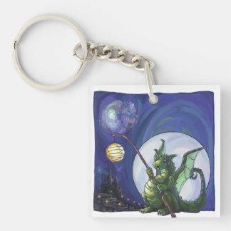 Dragon Watch Art Keychain