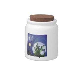 Dragon Watch Candy Jar