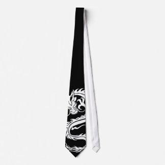 dragon white tie