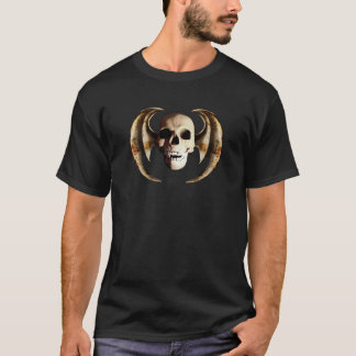 Dragon wing skull C T-Shirt