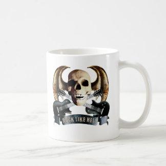 Dragon wing skull G Coffee Mug