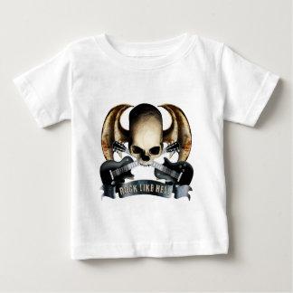 Dragon wing skull H Baby T-Shirt