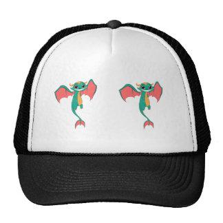 Dragon Wings, Cute Cartoon Trucker Hat