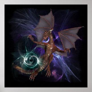 Dragon wish Poster
