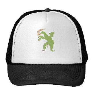 Dragon with a broken nail trucker hat