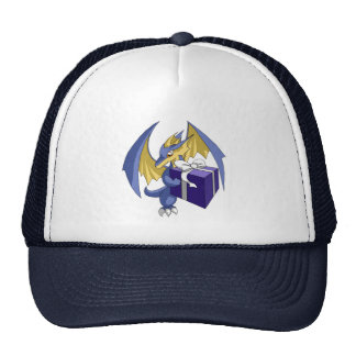 Dragon with a Gift Trucker Hat