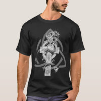 Dragon with Celtic symbol 2 T-Shirt