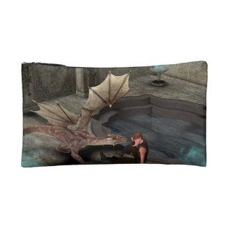 Dragon with his companion cosmetic bag