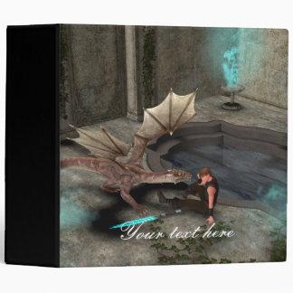 Dragon with his companion binder