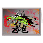 Dragon with Kanji