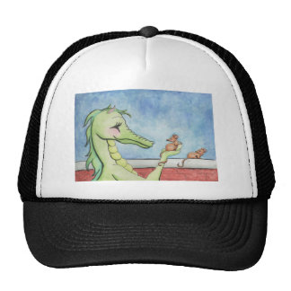 Dragon with Mice Trucker Hat