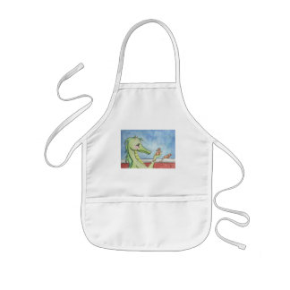 Dragon with Mice Kids' Apron