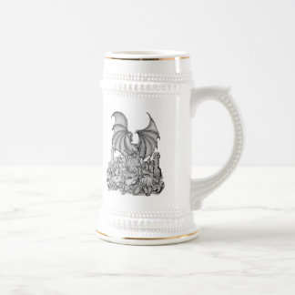 Dragon with Zombie Beer Stein