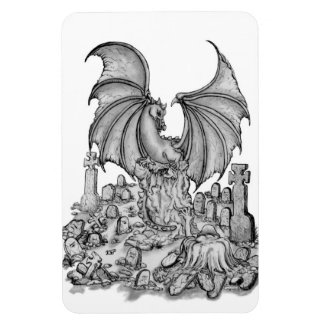Dragon with Zombie Magnet
