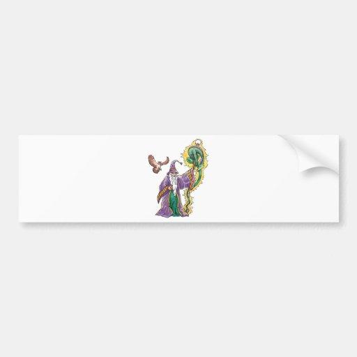 dragon wizard bumper stickers