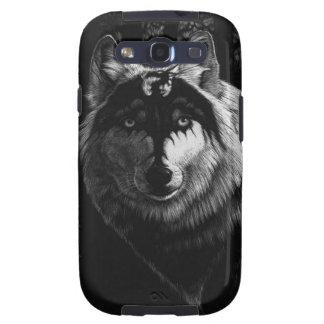 Dragon Wolf Galaxy SIII Covers