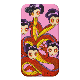 Dragon Women I-Phone Pink! iPhone 4/4S Cover