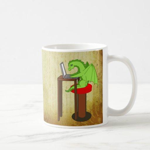 Dragon words coffee mugs
