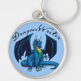 Dragon Writer Keychain