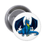 Dragon Writer Pinback Button