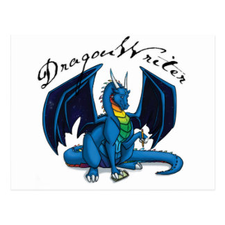 Dragon Writer Post Cards
