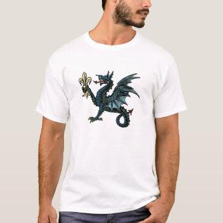 Dragon Wyvern SCA medieval Mythical Fantasy Pride T-Shirt