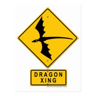 Dragon XING Postcard