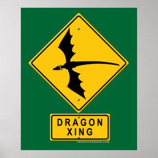 Dragon XING Print