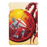 Dragón y caballero iPad mini funda