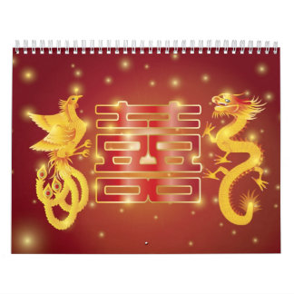 Dragón y calendario de Phoenix