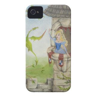Dragón y caso de la princesa iPhone4/4S Carcasa Para iPhone 4 De Case-Mate