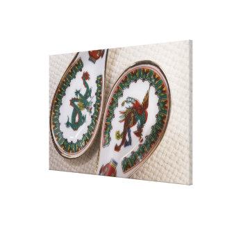 Dragón y cucharas tradicionales de Phoenix Impresiones De Lienzo