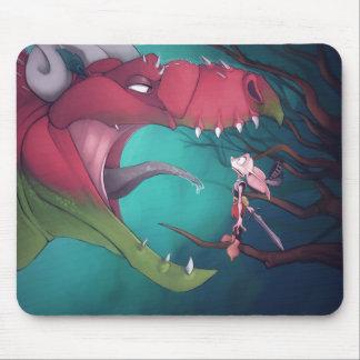 Dragón y Goblin Alfombrilla De Raton