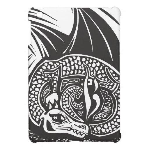 Dragón y horda iPad mini protector