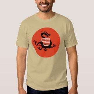 Dragón y logotipo de Ninja Poleras