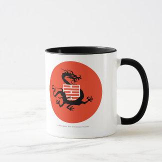 Dragón y logotipo de Ninja Taza