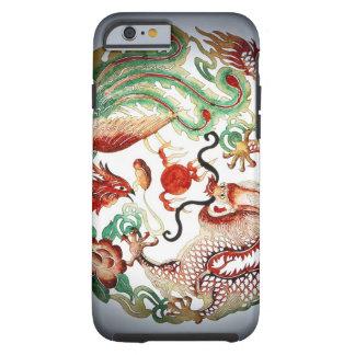 Dragón y plantilla de Phoenix Funda Resistente iPhone 6