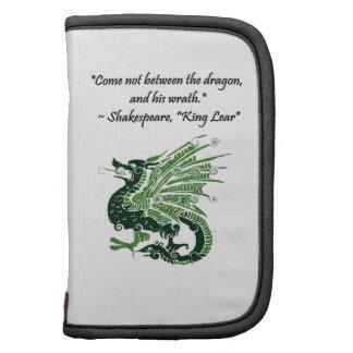 Dragón y su rey Lear Cartoon de Shakespeare de la Planificador