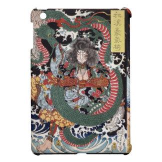Dragón y Tawarava Tōda de Woodblock del japonés iPad Mini Carcasas
