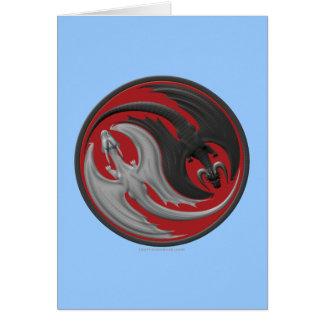 Dragon Yin-Yang Card