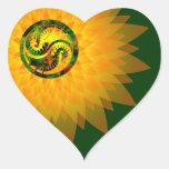Dragón Yin Yang Colcomanias Corazon