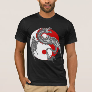 Dragon Yin Yang Dark T-Shirt