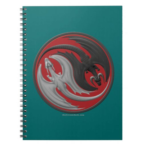 Dragon Yin-Yang Note Books