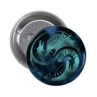 Dragón Yin Yang Pin