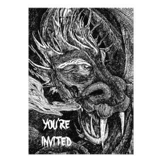 Dragon You re Invited invitation